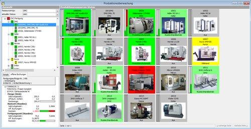 1. Produktbild EVOperformance - Betriebs- & Maschinendatenerfassung (MDE/MES)