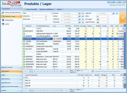 4. Produktbild - bizSoft Büro Software