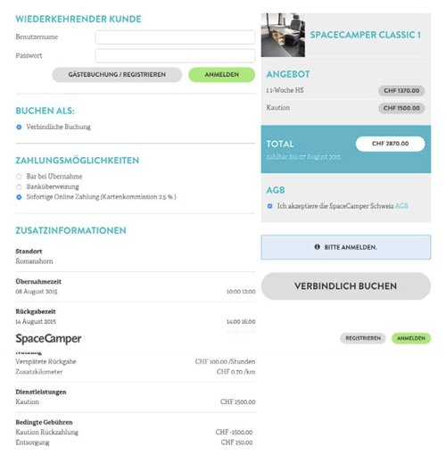 4. Produktbild wy.by - Buchungs- und Reservationssystem