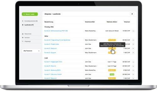 5. Produktbild MOCO Cloud-Software für Agenturen und Dienstleister