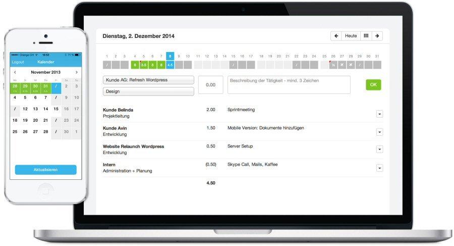 2. Produktbild MOCO Cloud-Software f�r Agenturen und Dienstleister