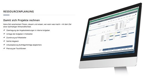 2. Produktbild advanter® CRM, ERP, DMS - flexibles System für Mac, iOS und Windows