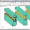 AutoCAD Applikation f�r die 2D/3D Konstruktion im Metallbau und Fassadenbau
