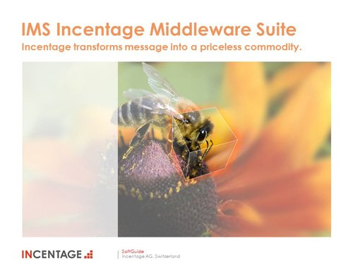 1. Produktbild IMS, the Incentage Middleware Suite