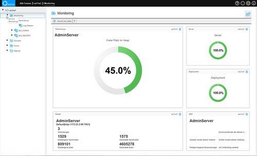 4. Produktbild quasiAdmin - effiziente Administration der Oracle Datenbank+Middleware