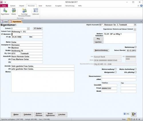 3. Produktbild NOVALIS® Immobilienverwaltung mit CRM, DMS und Online-Portal