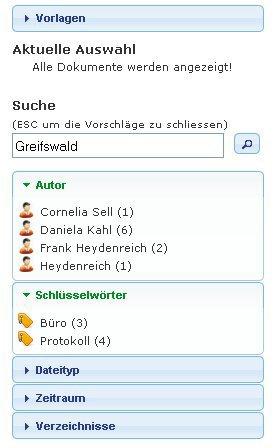 1. Produktbild quinsee Enterprise Search - Suche nach Dokumenten im Unternehmen