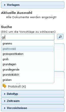 3. Produktbild quinsee Enterprise Search - Suche nach Dokumenten im Unternehmen