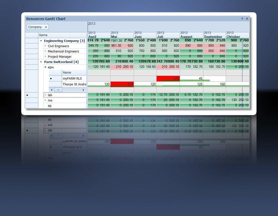 8. Produktbild myPARM - Multiprojektmanagement