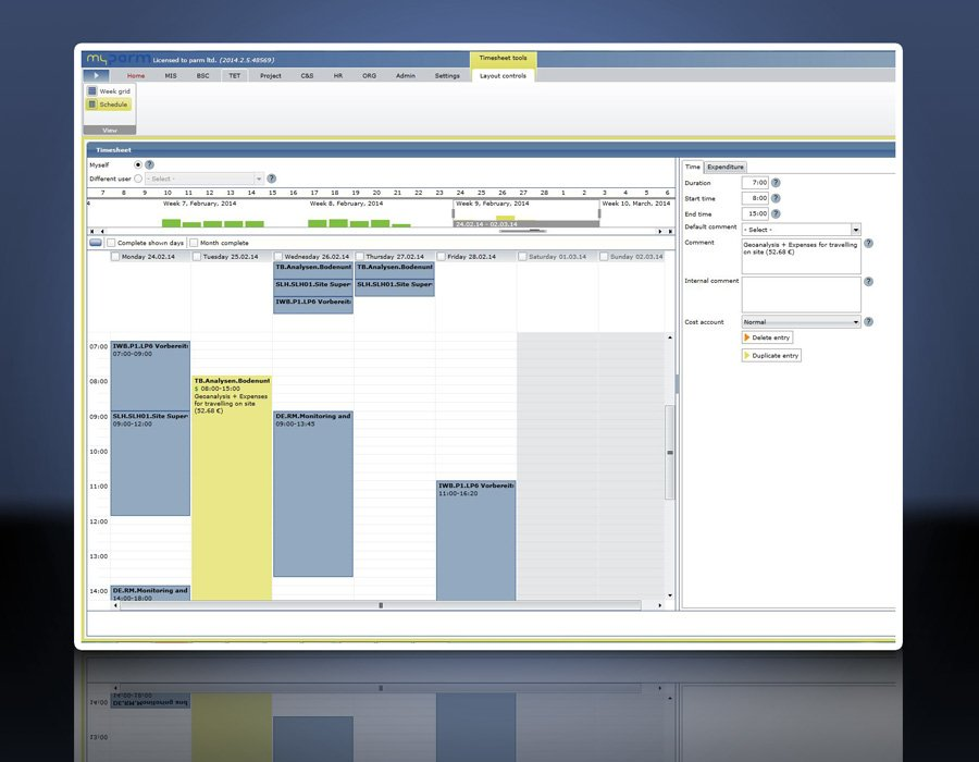 9. Produktbild myPARM - Multiprojektmanagement
