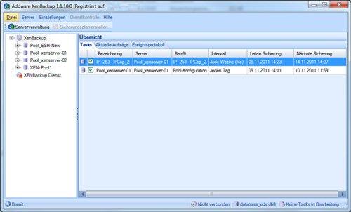 1. Produktbild AddWare XenBackup
