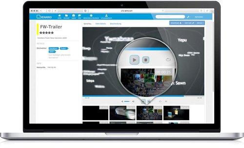 Einfach und �bersichtlich: Videos in FotoWeb