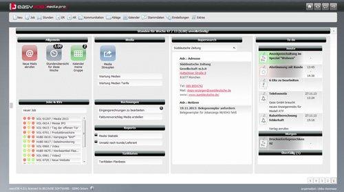 1. Produktbild easyJOB [media.pro] fr�her easyMEDIA f�r Mediaplanung