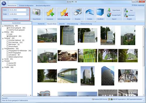 2. Produktbild docma® PIX :: Professionelles Bildmanagement im Unternehmen