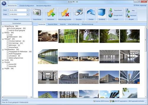 1. Produktbild docma® PIX :: Professionelles Bildmanagement im Unternehmen