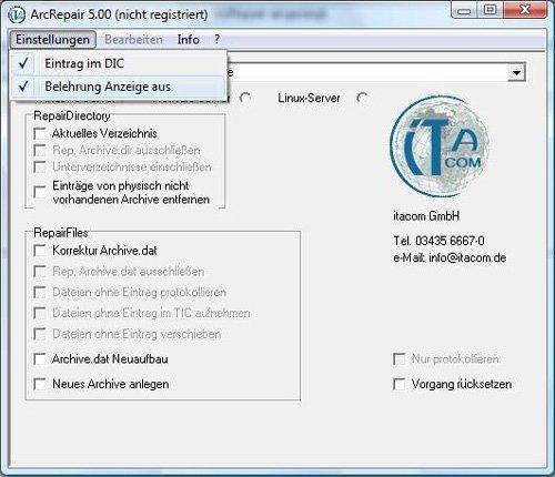 2. Produktbild Arcrepair Archivereparatursoftware f�r Tobit David