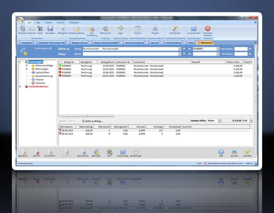 10. Produktbild Rechnungsprogramm RechnungsMaster für Windows
