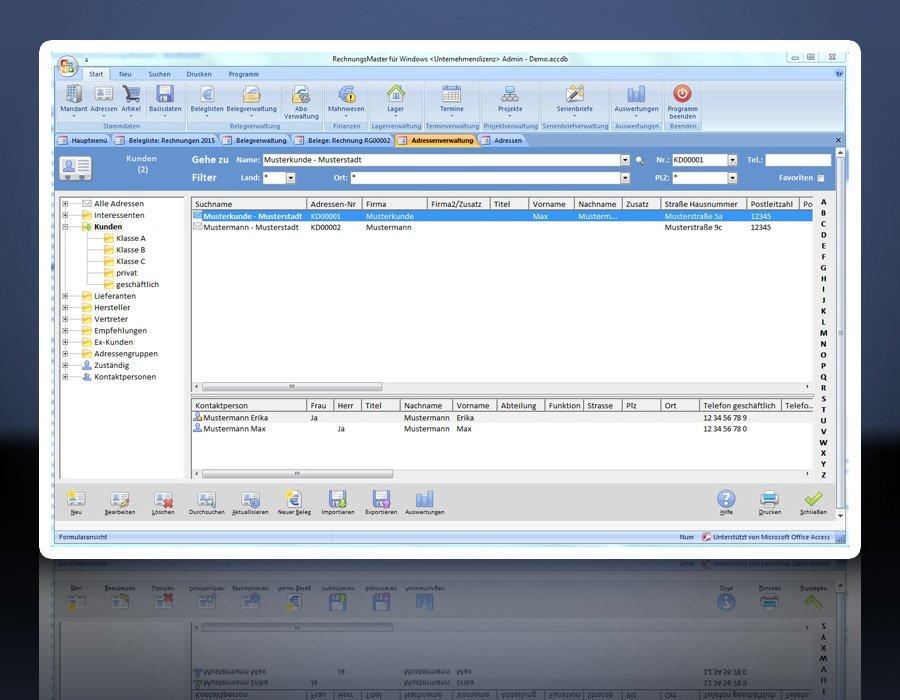 3. Produktbild Rechnungsprogramm RechnungsMaster für Windows