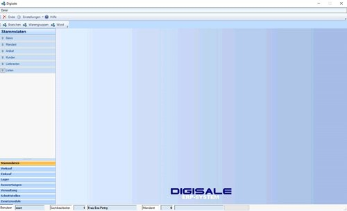 1. Produktbild Digisale - das ERP-System