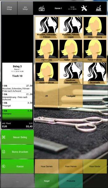 2. Produktbild Kasse Speedy - elektronische Kassen-App