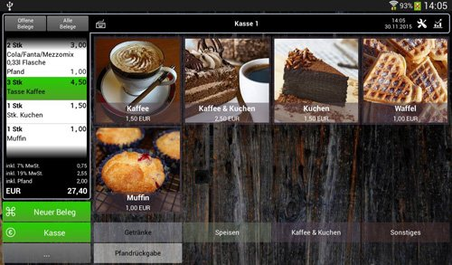5. Produktbild Kasse Speedy - elektronische Kassen-App