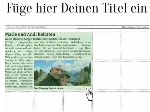 5. Produktbild Mein Extrablatt - Zeitungsgenerator
