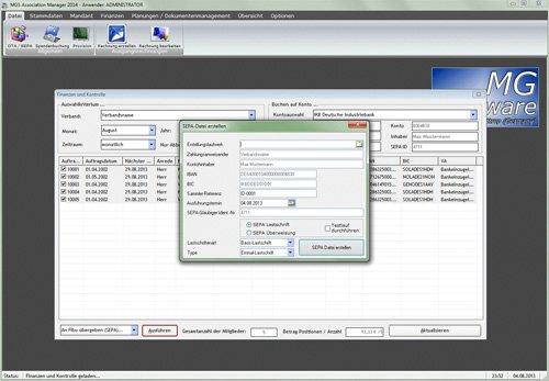 4. Produktbild MGS Association Manager - Verbandssoftware