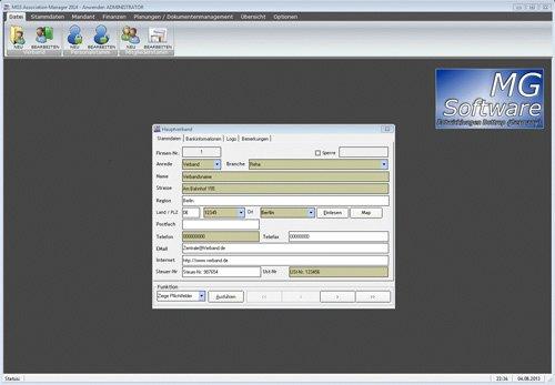 5. Produktbild MGS Association Manager - Verbandssoftware
