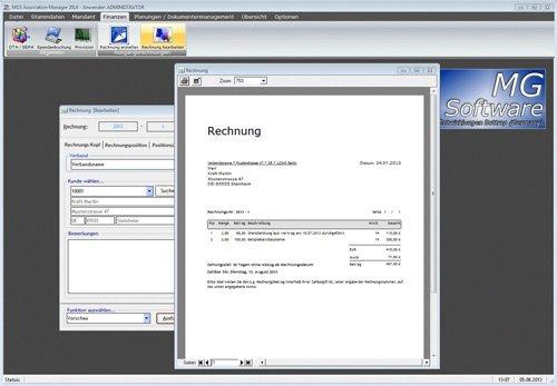 2. Produktbild MGS Association Manager - Verbandssoftware