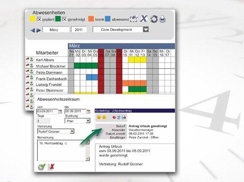 1. Produktbild rexx HR Vacationmanager - Urlaubsverwaltung
