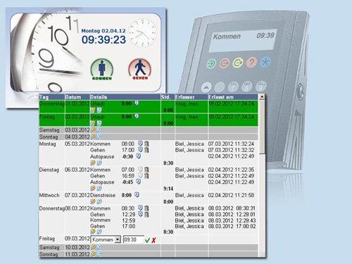 1. Produktbild rexx HR Zeiterfassung