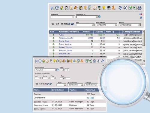 4. Produktbild rexx HR Zeiterfassung