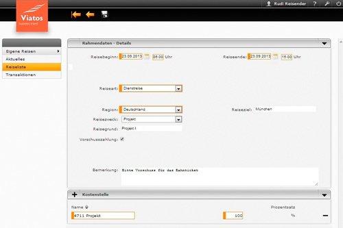 1. Produktbild Reisekostenabrechnung mit Viatos