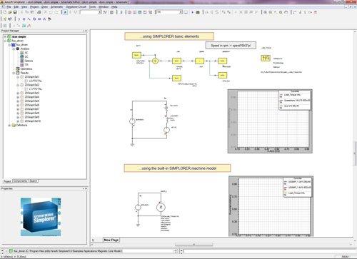 3. Produktbild ANSYS Simplorer - Systemsimulation