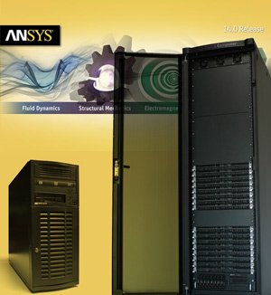 2. Produktbild ANSYS CFD 14 (ANSYS CFX und ANSYS FLUENT)