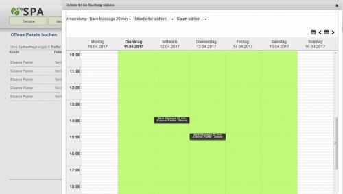 4. Produktbild MY SPA - der Wellness Planer