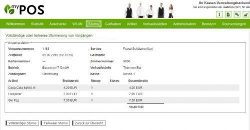 15. Produktbild MY POS - das webbasierte Kassensystem