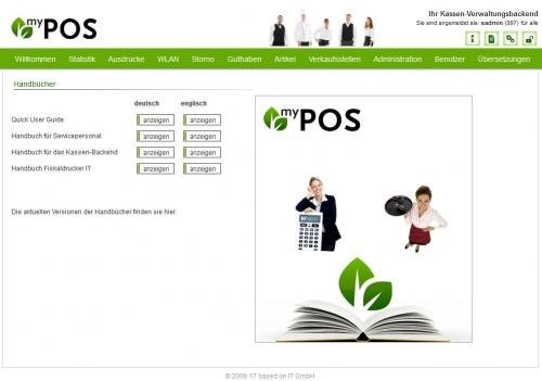 19. Produktbild MY POS - das webbasierte Kassensystem