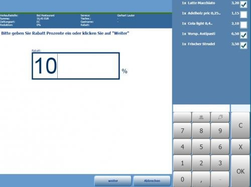 4. Produktbild MY POS - das webbasierte Kassensystem