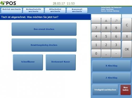 6. Produktbild MY POS - das webbasierte Kassensystem