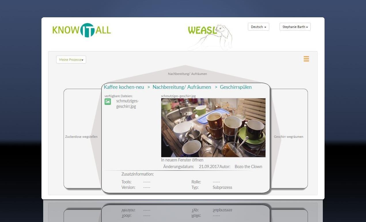 2. Produktbild WEASL - Workflow und Verfahrensanweisungssoftware