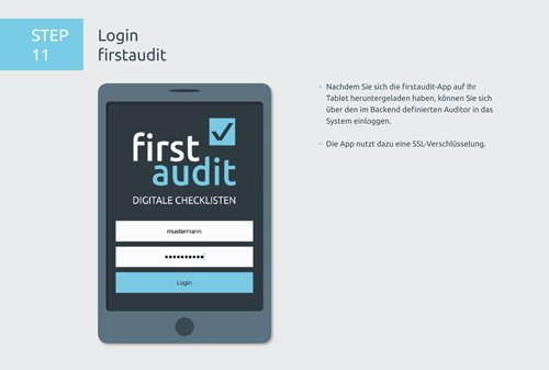 17. Produktbild firstaudit - Digitale Checklisten App