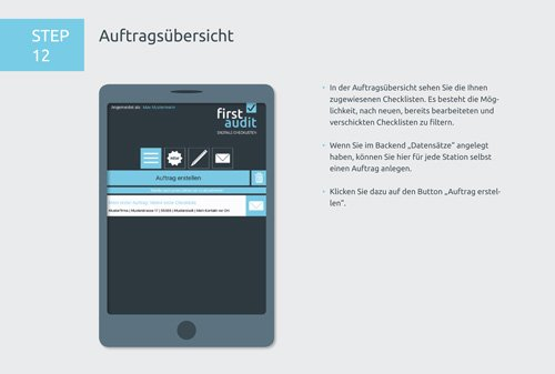 18. Produktbild firstaudit - Digitale Checklisten App