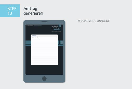 19. Produktbild firstaudit - Digitale Checklisten App