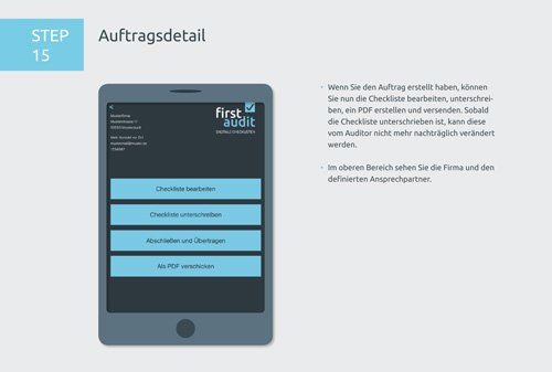 21. Produktbild firstaudit - Digitale Checklisten App