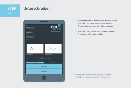 23. Produktbild firstaudit - Digitale Checklisten App