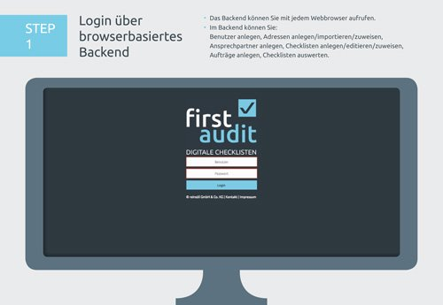 5. Produktbild firstaudit - Digitale Checklisten App