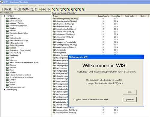 1. Produktbild WIS - Wartungs- und Inspektionssystem für KMU