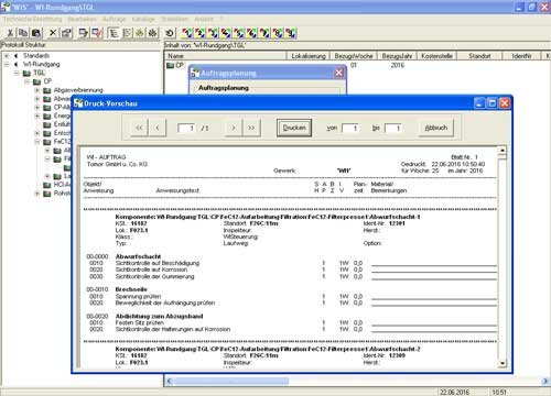 3. Produktbild WIS - Wartungs- und Inspektionssystem für KMU
