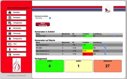 2. Produktbild AQS - Alarmquittierungssystem